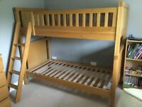 Aspace Porterhouse Solid Oak Bunk Beds