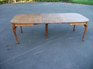 Antique Oak Extension Table Belleville Belleville Area image 7