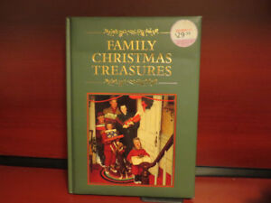 Family Christmas Treasures Hardcover. Like New Condition