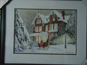 2 Prints by Walter Campbell and 1 done by Douglas R Laird London Ontario image 2