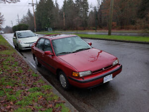 1994 Mazda Protege - No issues, 5 speed, winter tires