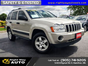 2006 Jeep Grand Cherokee Laredo | MINT | SAFETY & E-TESTED