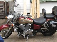 1999 Honda Shadow $2500.00  OBO REDUCED TO SELL.