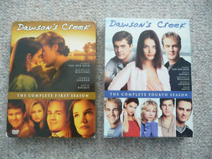 Dawson's Creek on DVD - Season 1 & 4