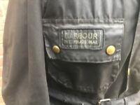 Barbour international suit A7 vintage motorcycle jacket