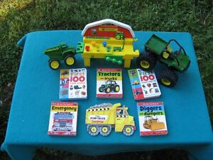 My Very First Book of Tractors&Trucks and John Deere Toys