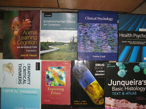 WLU Biology/Psychology Textbooks.