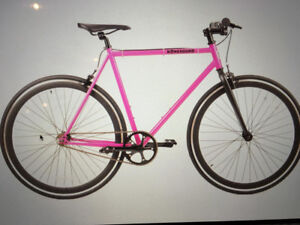 A brand new fixed gear unisex bike for sale!