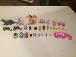 Lot of Miniature Toy Animals