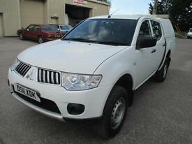 2011 Mitsubishi L200 2.5DI-D CR 4WD LB Double Cab Pickup 4Work 1 owner euro 4
