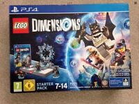 Lego Dimensions PS4 Brand New