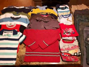 Vêtements garçon 3 à 4 ans faites votre propre lot