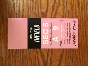 INFIELD PASS FOR JUNE MICHIGAN NASCAR RACE