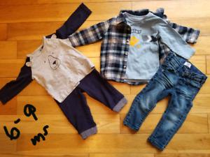 Vêtements bébé 6-12 mois