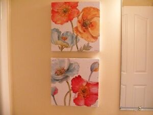 Set of 2 Flower Prints