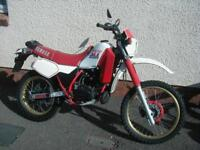 YAMAHA DT200R YPVS 1986 WHITE/RED ORIGINAL MUST SEE NOT RESTORED