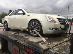 2008  cadillac cts 3.6 l  parting out