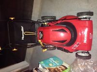 Homelite 3 IN 1 Lawnmower corless with battery retail at 380+tax