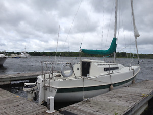 25' tanzer 7.5 sailboat for sale