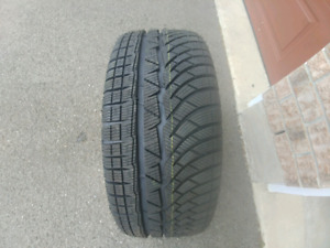 Michelin Pilot Aplin Snow Tires and Rims