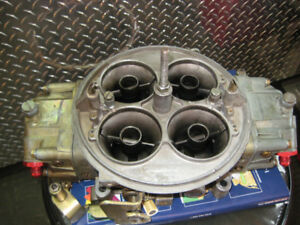holley dominator 1050cfm  great used shape
