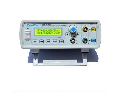 2mhz Dual Channel Dds Function Signal Generator Sinesquare Wave Sweep Counter