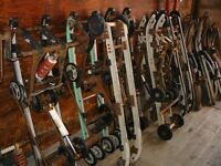 Vintage,Antique and late model Snowmobile/sled parts for Sale