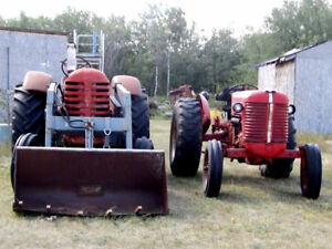 MH50 Tractor and MH44 Tractor/Loader