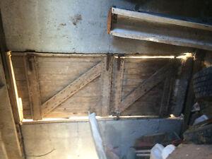 Vintage Dutch Barn door