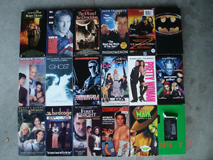 Hundreds of VHS movies for kids, family, collection