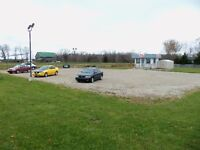 Commercial Property, 1.25 Acres for lease.