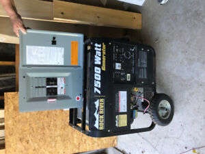 Rock River 750 watt generator & emergency panel