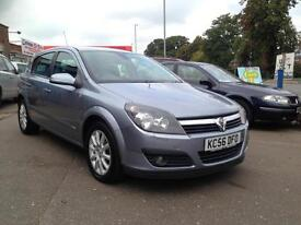 2007 56 Vauxhall Astra 1.6i 16v Design 5 DOOR hatch FINANCE AVAILABLE