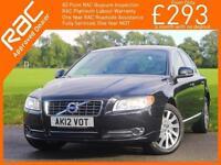 2012 Volvo S80 2.4 D5 Turbo Diesel 212 BHP SE LUX Geartronic 6 Speed Auto Sunroo