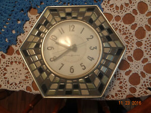 Mid Century General Electric Mosaic Wall Clock Belleville Belleville Area image 1