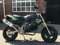 2003 Kawasaki KSR 110 mini Supersport bike