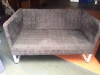 SOFA IKEA 2 SEATER (grey)