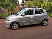 KIA PICANTO 1.1 LX AUTOMATIC 2004 LOW MILES ONLY DONE 59K. FULL HISTORY 1 YEARS MOT. LIKE NEW