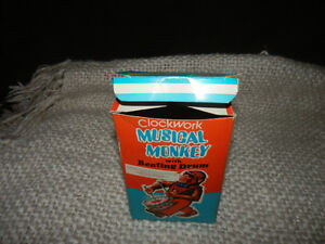 OLD MUSICAL MONKEY WITH ORIGINAL BOX Kitchener / Waterloo Kitchener Area image 3