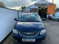 2003 Chrysler Grand Voyager 2.5 CRD Limited XS 5dr MPV Diesel Manual