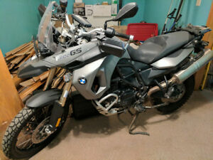 BMW F800GS ***reduced for winter***
