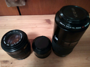 Lens for Sony alpha Amount