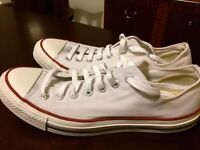 All Star converse white size 11