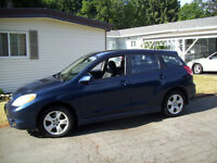 2003 Toyota Matrix CTR Hatchback