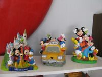 MICKEY MOUSE MINNIE MOUSE GOOFY AND FRIENDS BANKS