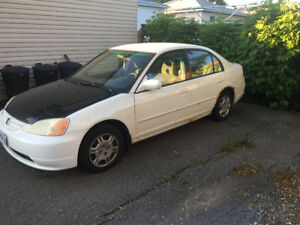2001 Honda Civic LX-G Sedan $400 o.b.o