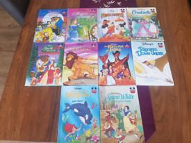 Disney Books x 10
