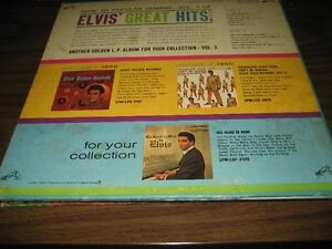 Reduced price ELVIS LP VOLUME 3 GOLDEN RECORDS Gatineau Ottawa / Gatineau Area image 2