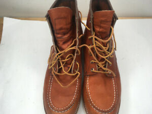 """Red Wing Heritage 6"""" Moc Toe Mens Size 12M"""