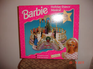 Barbie Holiday Dance musical set 1997 New